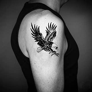 American Eagle Temporary Fake Tattoo Sticker (Set of 2) - www.ohmytat.com