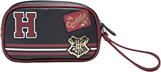 Harry Potter Quidditch Patches Makeup Bag Travel Tote with wristlet