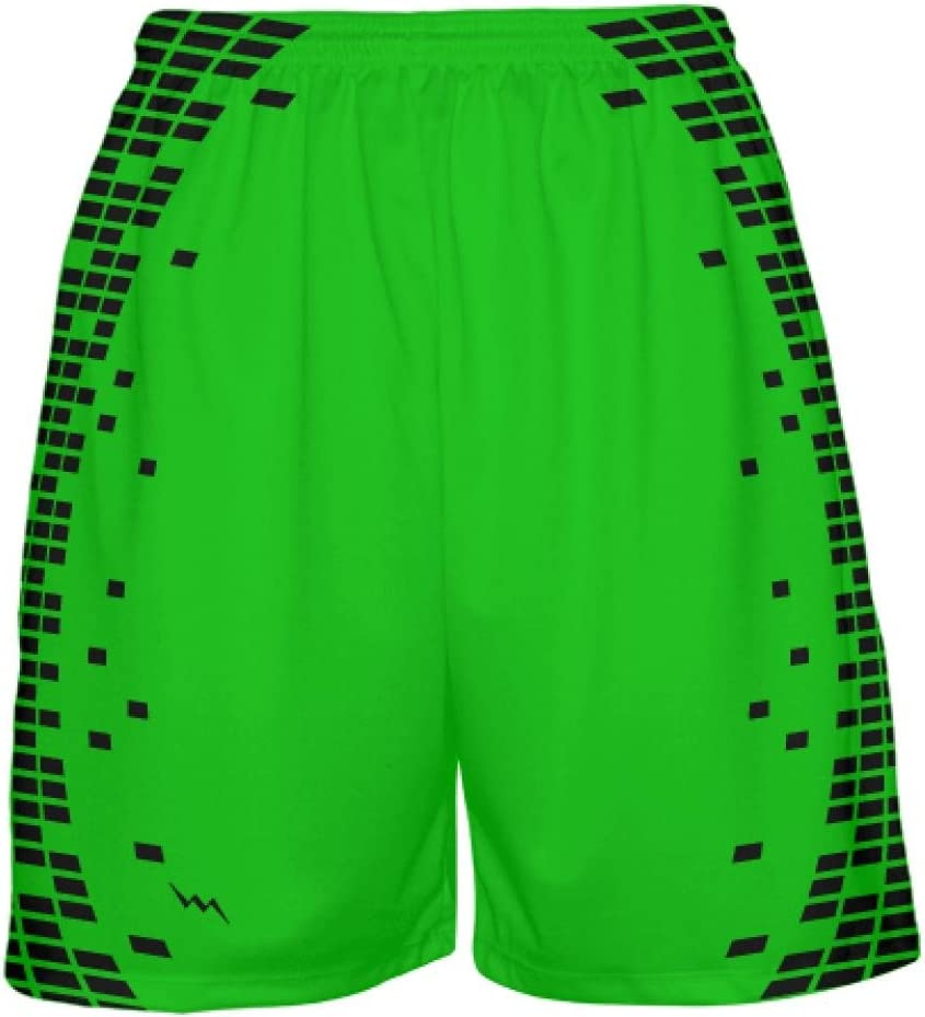LightningWear Neon Green NEW Basketball Shorts Tr - Milwaukee Mall Elite
