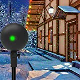 Christmas Lights Projector Laser Light Xmas Spotlight...