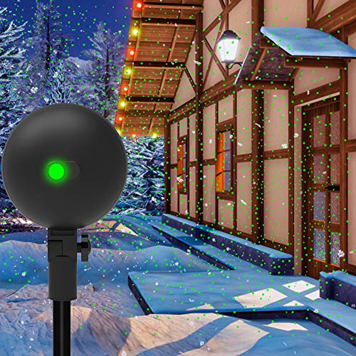 Christmas Lights Projector Laser Light Xmas Spotlight Projectors Waterproof Outdoor Landscape...