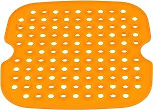 Cabilock Fritadeira Ar Forros 8. 5 Polegada Quadrada Não- Stick Esteiras Tapete De Silicone Parágrafo Reutilizável Air Fri...