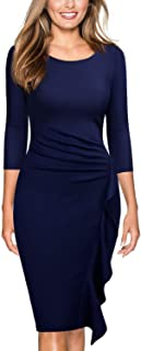 Best navy fitted bridesmaid dresses Reviews