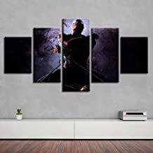 GUJIU-ART-5 pcs/5 Panels canvas painting Wall Art Pictures Canvas Poster Print 5 Panel Deadpool Movie Paintings For Living Room Cuadros Modern Abstract Home Decoration-20CMx35/45/55CM