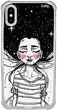 Capa Anti-Impacto Personalizada para Iphone X | XS - Menina Universo Daphs - Husky