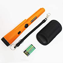 Metal Detector with Belt and Holster Portable Handheld GP-Pointer Include Battery 360° Scanning Unearthing Treasure Finder with High Sensitivity for Locating Gold Coin Silver Jewelry Fully Waterproof