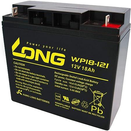 Kung Long Wp18 12i Akku 18ah 12v Agm Zyklenfest Blei Elektronik