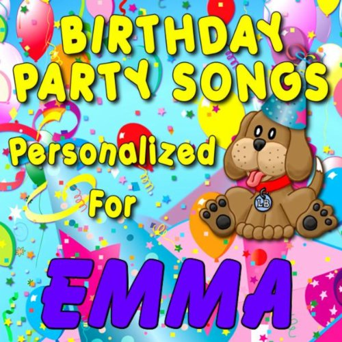 Birthday Party Songs - Personalized For Emma