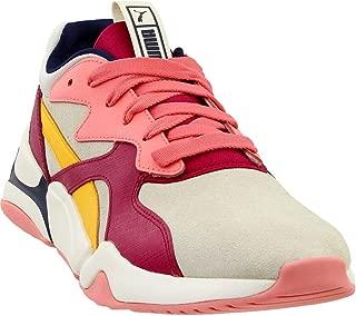 Womens Nova Suede Athletic Sneakers,