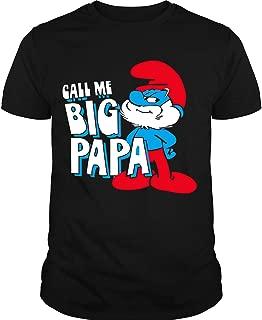 The Smurfs Call Me Big Papa T Shirt, Smurfs T Shirt