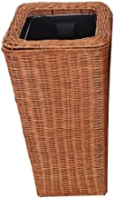 MGEM Trash Can,Dustbin Without Trash Can, Bamboo and Bedroom Rat Bedroom Living Room Baby Trash Can Small Trash Can 3-20L Office Trolley (Color : B, Size : 6L)