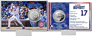 Kris Bryant (Chicago Cubs) Silver Coin Card Highland Mint