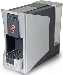 S.12 Espresso Coffee Capsule Machine Designed by Giugiaro By Essse Caffe (Silver)