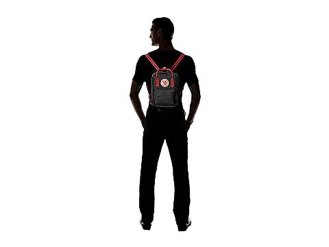 Ox Fjällräven Black Red Mini Kånken ttqxPO