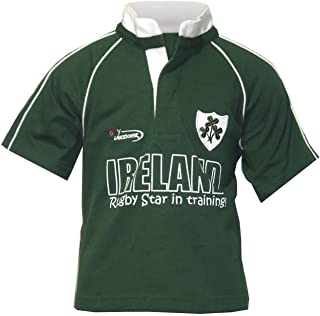 Carrolls Irish Gifts Rugby Star Babies Rugby Shirt