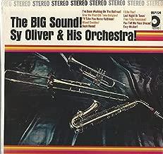 Sy Oliver & His Orchestra: The Big Sound! LP NM Canada Design SDLP 174
