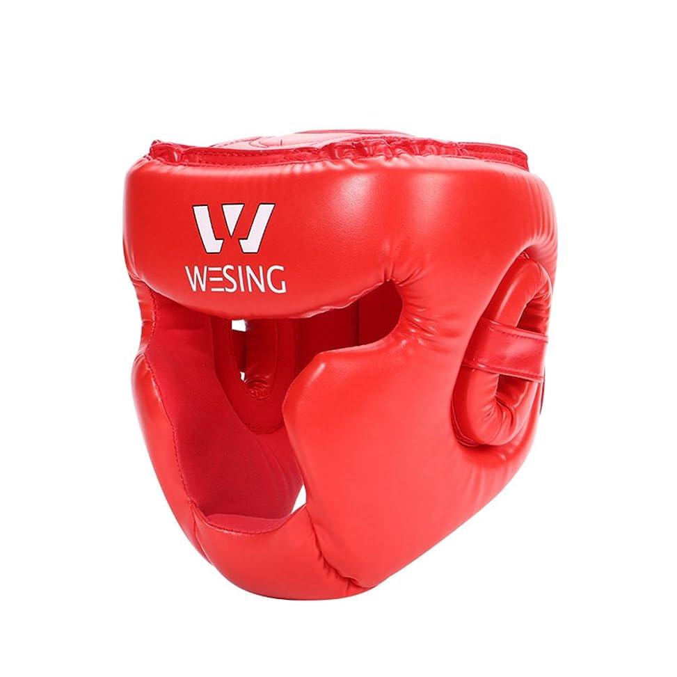 アイドル助けてあるWesing フルフェイストレーニングヘッドガードfor総合格闘技、ボクシングタイ式