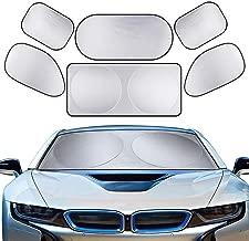 Autoseitenfensterscheibe Baby Side Window Car Sun Shades 2er Pack Blend und UV Strahlenschutz f/ür Ihr Kind Car Sunshades Protector ,Haftender Sonnenschutz f/ür Autofenster Sonnen
