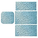 Blue Water Drop Pattern Sticker Set, Screen Protector, Body Protector for Switch