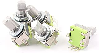 EC121S Rotary Encoder and Momentary Push SwitchD Shape Shaft