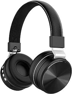 Headphone سماعة سماعة بلوتوث لاسلكية سماعة FM مضخم صوت رياضة الموسيقى سماعة بلوتوث Gaming Headset (Color : Black)