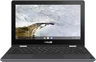 "ASUS Chromebook Flip C214MA Gris 29,5 cm (11.6"") 136"
