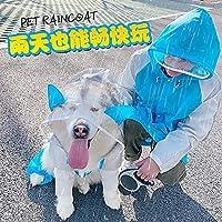 防水ジャケット犬レインコートポンチョ服服ラブラドール犬レインコートレインスリッカーペット製品Jj60Gyy chen