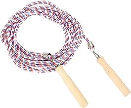 Battle Jump Rope Springtouw, springtouw, voor het tellen van het trainingsgewicht van de training(Red and blue (5 meters))