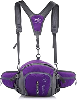 Multifunctional Waterproof 4-in-1 Outdoor Sports Bag Backpack Little Bear Lumbar Waist Fanny Pack with Insert Pockets and ...