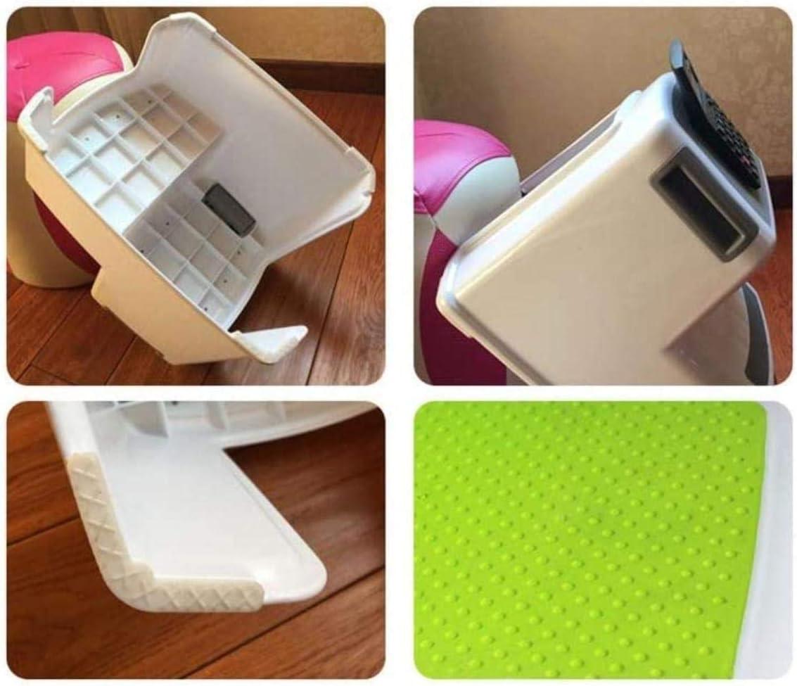 Escabeau Plastique Anti-dérapant Tabouret, Salle de Bains évier Repose-Pieds à Deux étages Pédale Tabouret/Double Design Anti-Patinage chaises Pliantes (Color : C) D