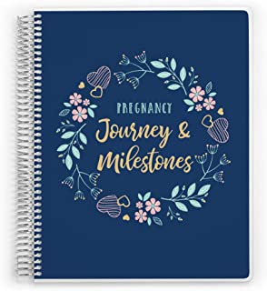 PurpleTrail Pregnancy Planner, Mom-to-Be Journal & Gift (6x8)