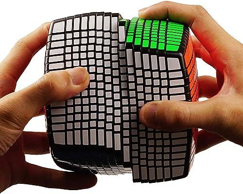 suministro de productos de calidad ZMH 15X15X15 negro Cube Competencia Profesional Velocidad Educación Juguete Juguete Juguete Tamaño Cubo Magia Profesional Competencia Alta Orden Dificultad 15 Orden Cubo De Juguetes Niños  hermoso