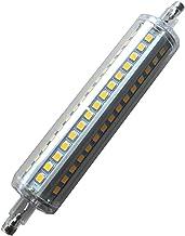 EMGQ Energiebesparende gloeilamp LED-lampen R7S LED-lampdimmer 135mm Lange Melk 12 W/Transparante Cover R7S LED Plug Licht...