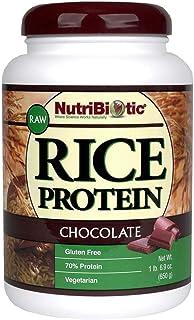Nutribiotic - Rice Protein Chocolate, 1 lb 6.9 oz.