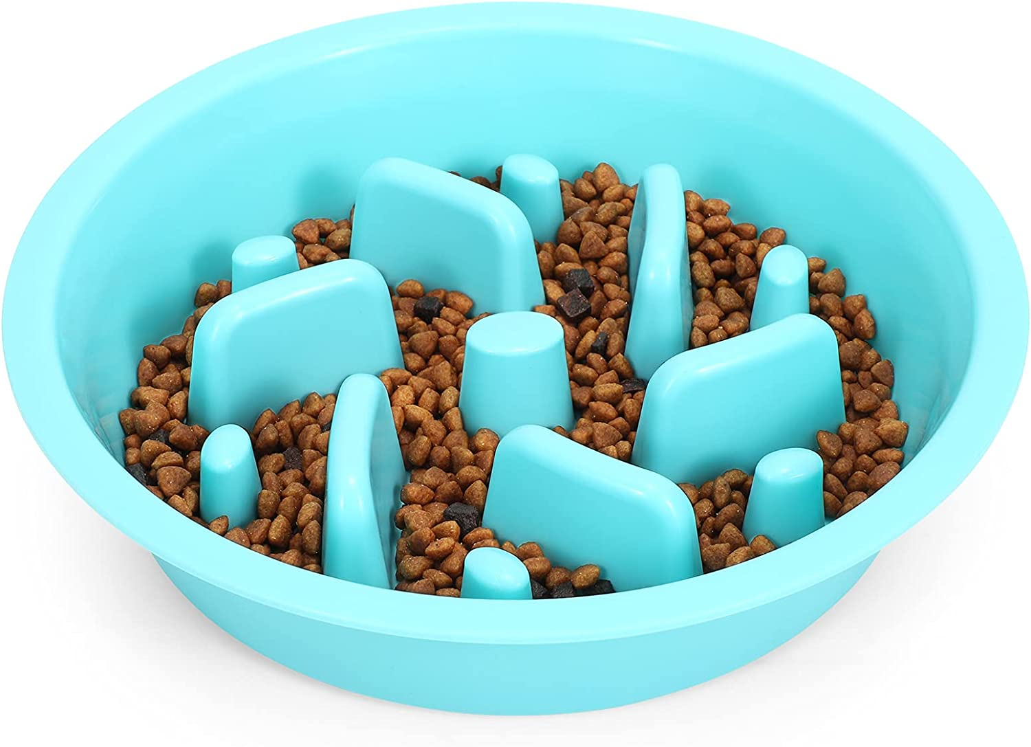 Dog Feeder Slow Eating Bowl for Raised Pet Feeders JASGOOD Maze Food Water Insert Bowl Compatible with Elevated Diners