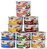 12 Dosen a 125g Dosenwurst, 6 Sorten je 2 Dosen, insgesamt 1,5 kg , Lebensmittelvorrat Konserven