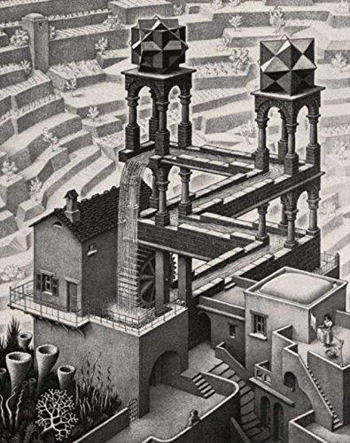 Escher Poster 01 cm 50x70 Poster Affiche Plakat Fine Art Il Negozio di Alex