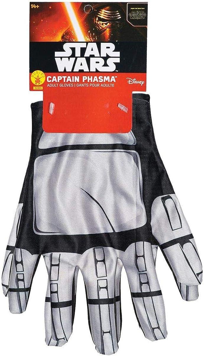 Star Denver Mall Wars: The Force Awakens Costume Phasma Gloves Adult Captain Max 79% OFF
