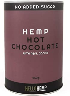 HEMP PROTEIN SMOOTHIE POWDER | Hot Chocolate with Real Cocoa | Great taste | No added sugar | Low-GI | 100% Vegan, Dairy F...