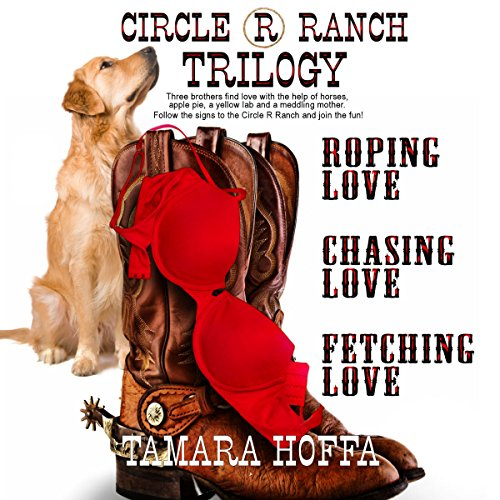 Circle R Ranch Trilogy audiobook cover art