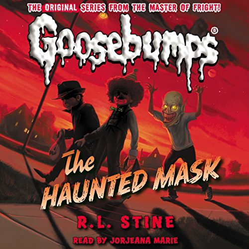 Page de couverture de Classic Goosebumps: The Haunted Mask