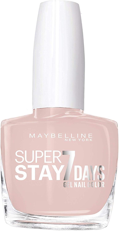 Maybelline New York - Superstay 7 Días, Esmalte de Uñas Efecto Gel, Tono 076 French Manicure