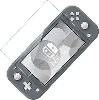 Nintendo Switch Lite 強化ガラス 液晶保護フィルム ニンテンドースイッチライト 指紋防止 飛散防止 高透過率 強靭 9H 自己吸着 耐衝撃 日本硝子