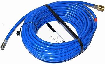 Reinigingslang voor Kränzle Hogedrukreiniger 20m M22x1,5 AG blauw 3 straal achter 1 straal voor