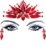 Neva Nude Demonica Red Crystal In Your Face Edition Body Sticker