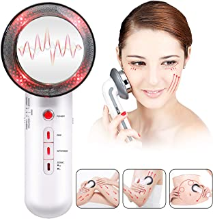 Face Tightening Machine 3 in 1 Anti Aging Skin Lift Device EMS Facial Massager Electric Infrared Weight Loss Body Shaping Machine Fat Remover Machine for Women Skin Beauty Care Tools