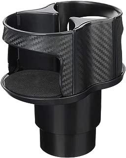 MOTOBA 2 in 1 Multifunction Cup Holder Water Bottle Holder for Car Elastic Opening
