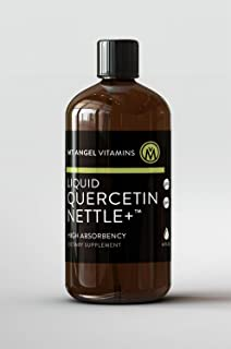 Mt. Angel Vitamins - Quercetin Nettle + Liquid, Supports Healthy Histamine Release, 4 Fluid Ounces