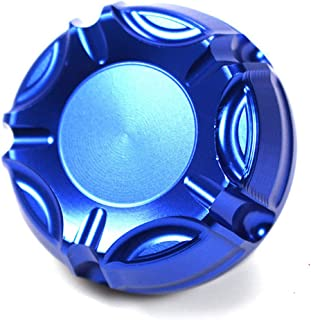 Blue Motorcycle Accessories CNC Cylinder Rear Fuel Brake Fluid Reservoir Cover For Triumph tiger 800 2001-2014/daytona 675 2009-2011