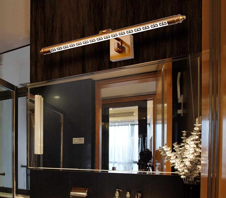 BEI-YI Spiegelfrontleuchte, Badezimmer Rostfrei Retro Spiegelschrankleuchte, Badezimmerspiegel Badezimmerspiegel Badezimmerspiegel Scheinwerfer -2574Spiegellampen (Farbe   12W70CM, größe   Weißes Licht) B07PMMKS58 | Sehr gelobt und vom Publikum der Verbraucher geschätzt  a79411